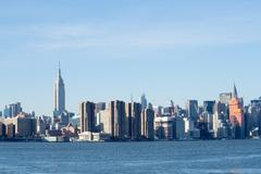 Midtown from Williamsburg - stock photo