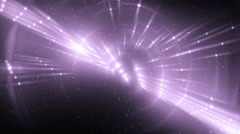 VJ Abstract violet motion disco. Stock Footage