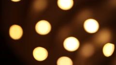Blur lights background Stock Footage