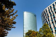 Hoch Zwei (HOCHZWEI) OMV Building In Vienna - stock photo
