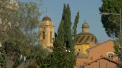 Eglise des Pénitents Blancs in Vence, France - stock footage