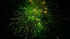Colorful fireworks on the sky Stock Footage