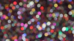 Festive elegant abstract background with bokeh lights and stars. Option No. 25 - stock footage