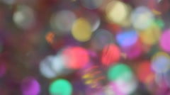 Festive elegant abstract background with bokeh lights and stars. Option No. 24 Stock Footage