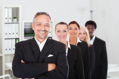 Multi-racial Group Of Business People Stock Photos
