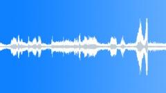 Radio static movement, 60hz hum, antique telefunken tube radio analogue, clos Sound Effect
