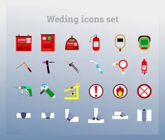 Set colour icon (welding) Piirros