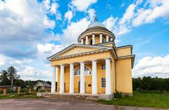 Cathedral of the Assumption of the Blessed Virgin Mary in Lubytino, Novgorod  - stock photo