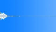 Tension - waterphone rod impacts  11 soft approx settling pitch a2 Sound Effect