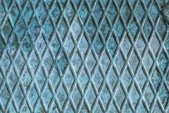Blue metal texture background Stock Photos