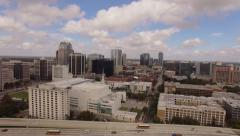 Aerial Downtown Orlando City Arkistovideo