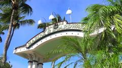 Islamorada Marina and boardwalk entrance. Florida Keys - stock footage