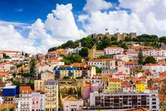 Lisbon Portugal Old Town Kuvituskuvat