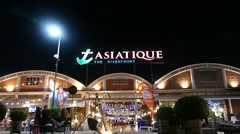 Stock Video Footage of Asiatique The Riverfront
