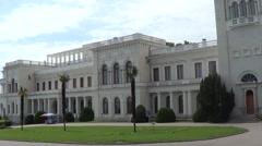Livadysky palace, Crimea Stock Footage