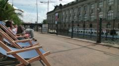Museum Island Berlin Stock Footage