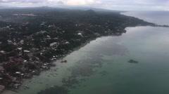 Landing in Tagbilaran City Stock Footage