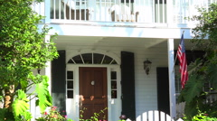 Vacation house, Key West, Florida Stock Footage