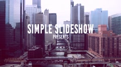 Simple Slideshow Stock After Effects
