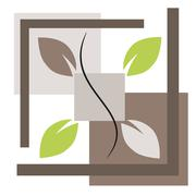 Nature symbol illustration Stock Illustration