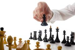 Stock Photo of Business concept strategy, leadership, team and success. Busines