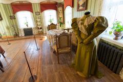 Stock Photo of Suzdal, Russia - November 06, 2015. Museum Wooden Architecture, Interior of m