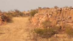 Rural village area Rajamundry India Stock Footage