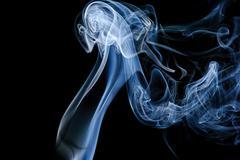 abstraction and smoke - stock photo