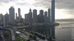 Traveling in Panama City Stock Footage