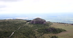 4K On Top of Mountain. Chapada dos Guimaraes, Brazil. Stock Footage