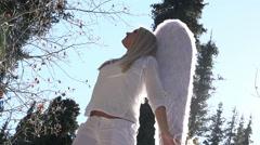 Angel in Sunlight HD Stock Footage