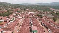 Colonial town old urbanization Stock Footage