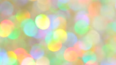 Festive elegant abstract background with bokeh lights and stars. Option No. 9 - stock footage