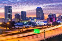 Orlando, Florida Downtown Skyline Kuvituskuvat