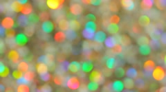 Festive elegant abstract background with bokeh lights and stars. Option No. 5 Stock Footage