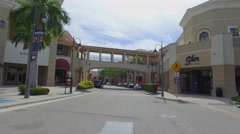 Shops at Gulfstream Hallandale Stock Footage