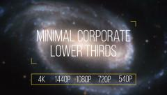 Simple Corporate Lower Thirds Stock After Effects
