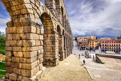 Segovia, Spain Aqueduct Stock Photos