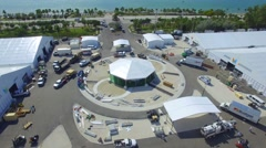 Miami Beach International Boat Show 2016 Stock Footage