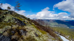 Beautiful Nature Norway. The Sognefjorden. Stock Footage