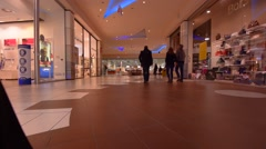 TRIESTE, ITALY: Shopping center Intercoop - stock footage