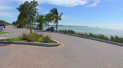 Key Biscayne Florida Stock Footage