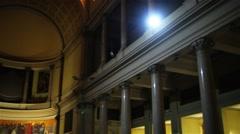 Basilica di Sant Antonio al Laterano, Rome, Italy Stock Footage