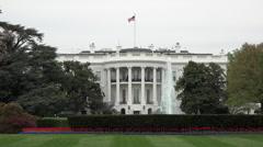 Washington DC Presidential White House HD Stock Footage