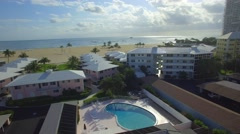 Fort Lauderdale Beach FL Stock Footage