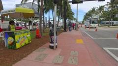 Miami International Boat Show Stock Footage