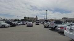 Gulfstream Casino parking lot Stock Footage