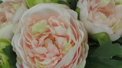 Bouquet for the bride - stock footage