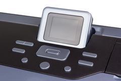 Electronic collection - inkjet printer - stock photo