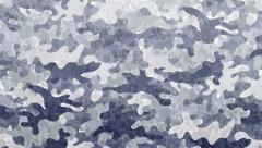 Animated gray camouflage background Stock Footage